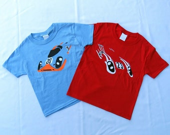 Kids Porsche 917 1970 24 Hours Of Le Mans youth child T-shirt combo