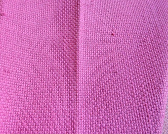 Upholstery Fabric PINK Polly/Cotton Blend - By The Yard