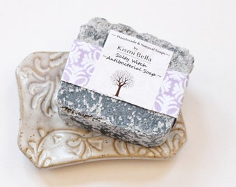 Ceramic Dish/Handmade Soap/ Soap Dish Gift Set/ For Friend/Co-worker/Housewarming Gift/Home and Living/ Bath and Beauty