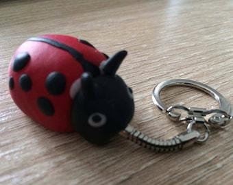 Lucky Ladybug keychain