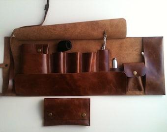 Leather Handmade Pipe Bag
