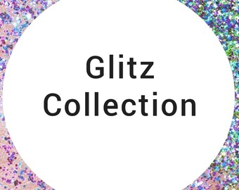 "Handmade statement stud earrings // gifts for her // ""Glitter Collection"""