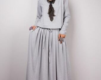 1b5337243f1 Yellow Sleeveless Handmade Full Maxi Dress with pockets.