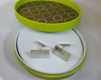 Cufflinks silver 835 cufflinks noble MS157