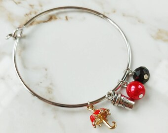 In Omnia Paratus bangle bracelet // Gilmore Girls // Mothers Day // Gifts for her