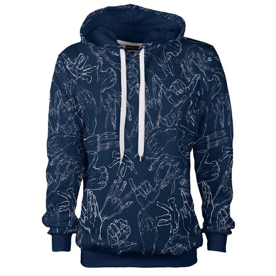 80s designer creative size vintage art hoodie hipster hoodie women Egon men artistic sweatshirt plus hoody men hooded hands women black 4xl xFZpY