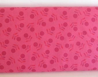 Freespirit Essentials Cotton Fabric Flora Pink PWDEFLO Cherry
