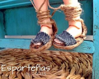 Espadrille sandals for Blythe