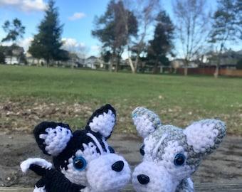 Crochet Mini Siberian Husky