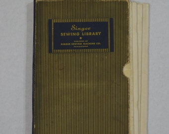 1930s Singer Sewing Library - Set of Four Books