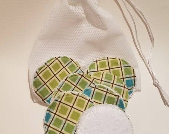 Makeup pads, reusable face scrubbers, reusable makeup remover pads, homemade face pad, eco friendly skin care pads, reusable face cleaner