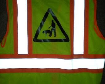 Dog Walker Reflective Safety Vest