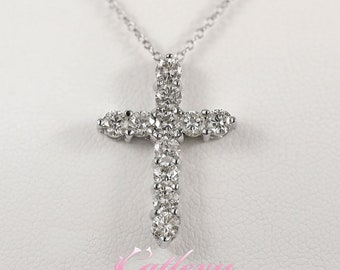 Classic Diamond Cross 1.70 CTW