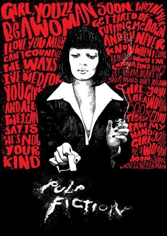 Pulp Fiction Film Print