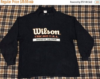 20% OFF vintage Wilson sweatshirt big logo