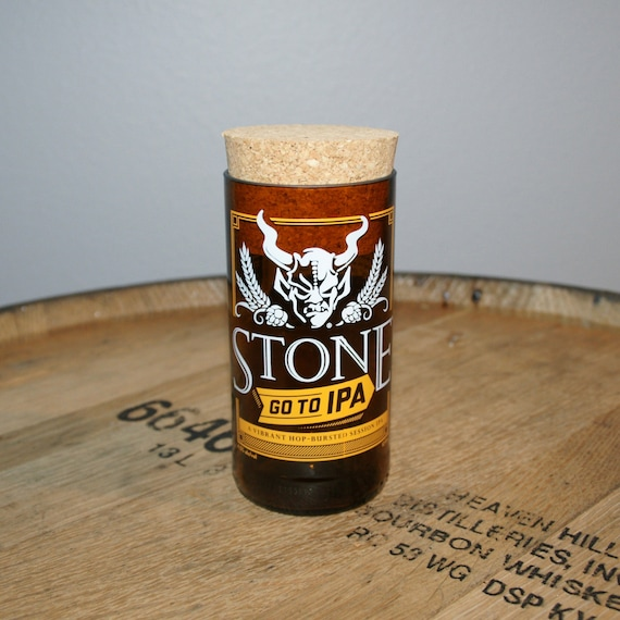 UPcycled Stash Jar - Stone Brewing Co. - Go To IPA
