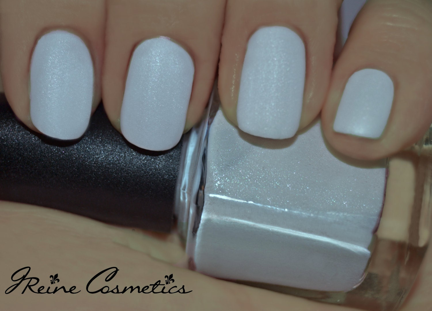 Fulton St Frost - Shimmer White Matte Nail Polish from ...