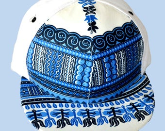 fabric Cap printed African