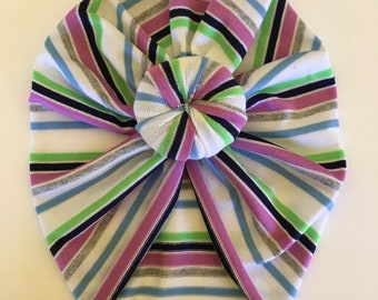 Purple striped