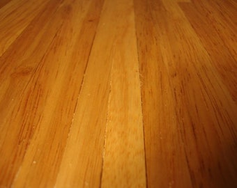 Light Wood Floorboards Miniature for 1:12 Scale Dolls Houses