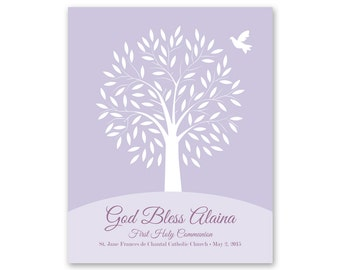 First Communion Gift Print / Confirmation / Baptism / Religious Keepsake / 8 x 10