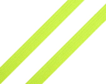 "Rubber Band 10 mm ""Neon green"" from 1 m"