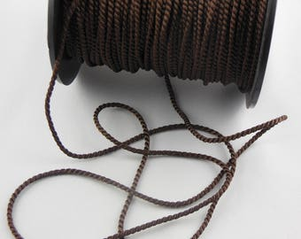 Soutache Brown twisted cord