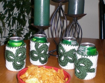 St. Pat Day Can Cozies Set of Four