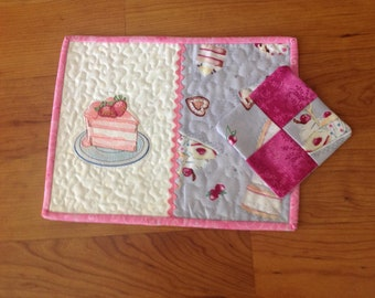 Cup Rug and Coaster Set
