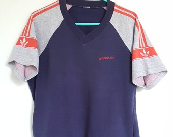 Sweat short Adidas Vintage years 80-90 Made in France size S (S/M) Rare.
