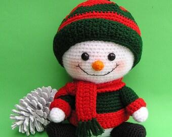 Pdf Crochet Pattern BILLY THE SNOWBOY (English only)