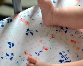Girls Crib Bedding, Pink Grey Navy Crib Sheets, Changing Pad Covers, Fitted Crib Sheet, Floral Nursery Bedding, Mini Crib Bedding Cot