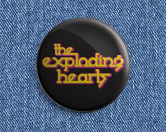 The Exploding Hearts button