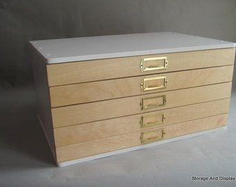 Awesome Storage Cabinet, Collectors Cabinet, Rubber Stamps, Mineral,Fossil,Rock And  Gem