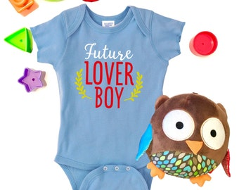 Custom onesies etsy future lover boy baby lover boy custom onesie custom baby onesie newborn onesie coming home outfit personalized baby onesie new baby negle Image collections
