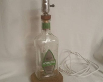 Tequila lamp