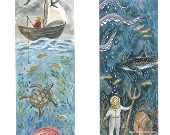 Wonders of the Deep   Storytime Bookmark