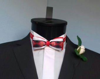 Arsenal Groom's Wedding Bow Tie
