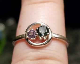 Gorgeous Montana Sapphire ring