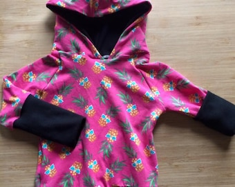 Hoodie scalable pineapple pink