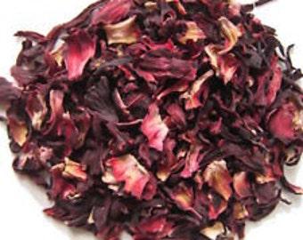 SALE ~ Hibiscus Flower~Dried Flowers~Hibiscus~Hibiscus Flowers~Hibiscus Herb~1 oz.