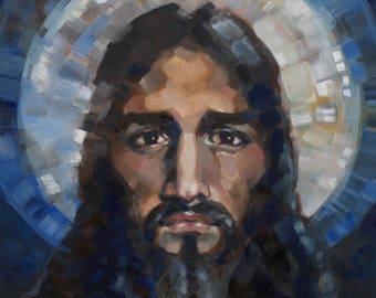 Christ Painting Print: They Shall Call His Name Emmanuel