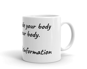 Destroy Misinformation - Mug