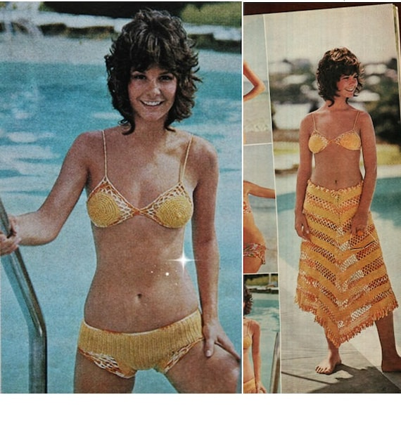 Sexy crochet bikini patterns girls faking