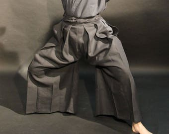Hakama - japanese trousers of old style