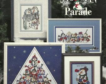 Stoney creek:  Snowman Parade Cross Stitch Booklet 159