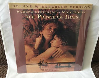 1992 NEW Sealed The Prince Of Tides Laserdisc Laser Disc Deluxe Widescreen Version Barbra Streisand Nick Nolte