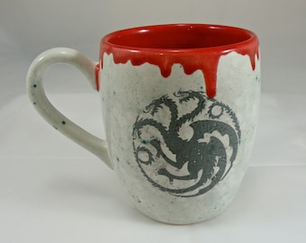 Mug handmade Tea mug coffee mug beer mug  Food safe Lead free Glaze