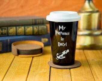 My Patronus is Daryl Latte Mug