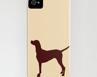 Vizsla Dog on Phone Case - Vizsla Gifts, Dog Gift Ideas,   S6 iPhone 6S, iPhone 6 Plus, Gifts for her, Gifts For Friends